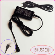 For ASUS VivoBook ADP-33AW A EXA1206CH X200CA-HCL1104G Laptop Netbook Ac Adapter Power Supply Charger 19V 1.75A