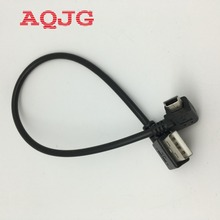 10pcs Right Angle 90 degree USB 2.0 Male to Mini USB male Extension mini USB Cable 27cm Turn Left USB2.0 Cable AQJG