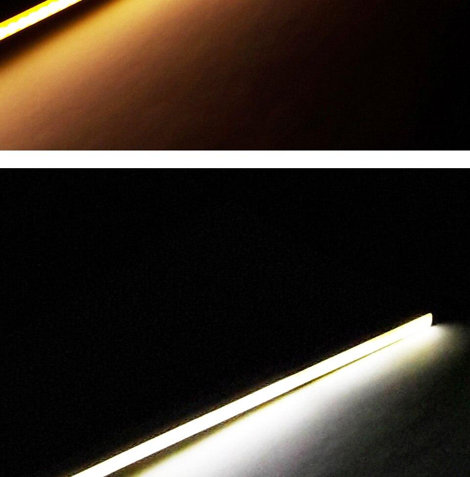 dc 12v 10w 20w 60cm 40cm 30cm 20cm cob led strip car light (12)