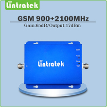 gsm Repeater  900mhz 2100mhz dual band repeater signal Amplifier 2G 3G EDGE HSPA GSM UMTS WCDMA cell phone signal booster