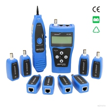 Original Noyafa NF-388 Blue English Version Multi-functional Network cable tester Cable tracker RJ45 lan tester LCD display(China)