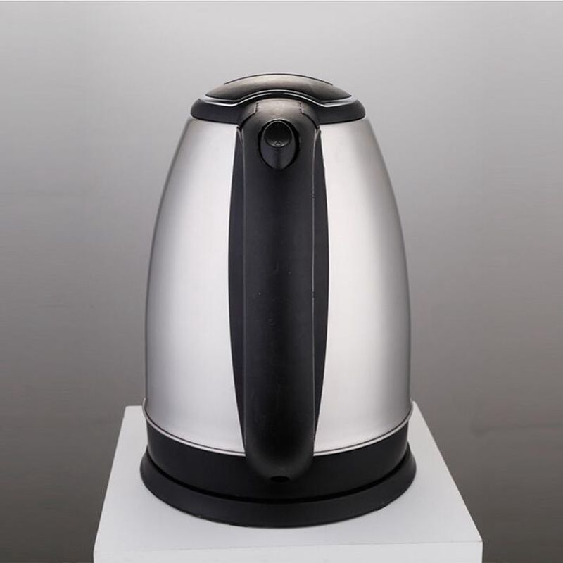 Home appliance Household 2.0L Stainless Steel Electric Kettle With Auto-Off Function Quick Heat Silver Water Heating Kettle<br>