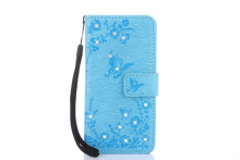 Case for Samsung Galaxy A5 2017 Wallet Case for Samsung A5 2017 SM-A520F/DS A520L A520K A520F A520S Flash drilling phone bag(China)