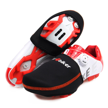 2 colors  Bicycle Protector Warmer Boot Cover Outdoor Sports Wear Bike Cycling Shoe Toe Cover Black 1 Pair Size EUR 39-44