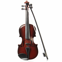 Adjustable String Musical Beginner develop Kid talent Simulation Toys Bow Acoustic Violin Practice Demo Instrument Children Gift(China)