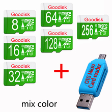 Goodisk Micro SD Card 16 GB 32GB 64GB Class 10 Memory Card 4GB 8GB class 6 sd card Flash Memory for cell Phones Tablet Camera(China)