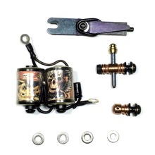 Tattoo Machine replacement parts kit 10 layers coils Copper binding post and armature bar with springs