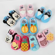 2017New Baby Infant Cartoon Shoes 0-18M Boys Girls Casual Shoes Fashion Shoes High Quality Spring Autumn Cute Baby First Walker