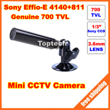 700TVL Sony Effio-E CCD HD 960H Mini Bullet Outdoor Waterproof Security CCTV Camera surveillance cam