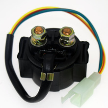 For Yamaha TRI MOTO 200 YTM200 1983-1985 ATV Motorcycle Electrical Parts Starter Solenoid Lgnition Key Switch Starting Relay