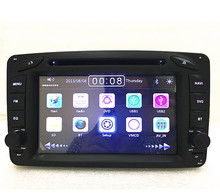 car radio DVD GPS 2 din   For Mercedes  Benz Viano Vito W203 W209 C Class W463 wifi 3G Radio Miralink SWC wifi
