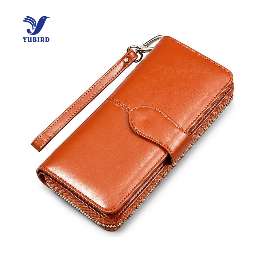 Fashion Leather Purse Women Phone Pocket Purse Zipper Wallet Female Card Holder Photo Holder Lady Clutch Carteira Feminino Brown<br><br>Aliexpress