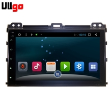 Android 6.0 Car DVD GPS for Toyota Prado 120 2002-2009 Autoradio GPS 1 din Car Radio GPS Central Multimedia in Dash Head Unit