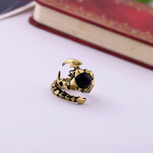Fashion fashion accessories vintage personality scorpion general ring Factory Wholesale