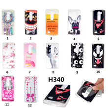 Cute Animal cat & flowers Owls Silicone TPU Cover Case For LG Leon C40 4G LTE H340N H324 Silicon shell capa Mobile Phone cases(China)