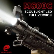 Element Airsoft SF M600C Weapon Tactical Light LED Scout Flashlights EX 072 for Wargame Waterproof and Shockproof Flashlights DE