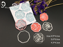 METAL CUTTING DIES rose flower wedding background Scraper card album invitation PAPER CRAFT embossing stencils  art die cuts