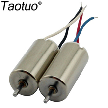 Taotuo 2pcs CW CCW Main Motor For Cheerson CX-10 CX-11 H111 V272 JXD395 RC Quadcopter Drone Parts