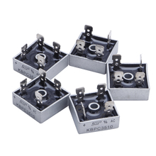 OOTDTY 5Pcs 35A KBPC3510 1000V Metal Case Single Phases Diode Bridge Rectifier New