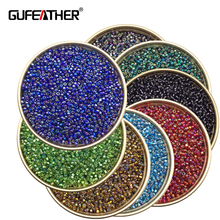 GUFEATHER Z92/2MM beads/High-grade/seed beads/jewelry accessories/charms/diy beads/diy accessories 20g/bag(China)