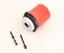 Baja CNC Rovan metal air filter assembly with air filter cotton and skeleton 85188 Silver Orange