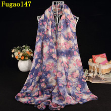 New Small Plum Blossom Flowers Long Shawl Women Flower Stripe Plant Scarves Winter Floral Chevron Scarf Female Design Wrap