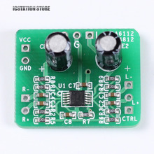 Differential-balanced 150mW HIFI Amplifier Board TPA6112&SGM4812 Input 3.3-5V Stereo Audio Power Amplifier Board