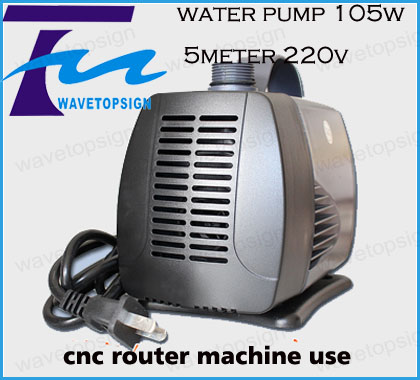 cnc router water pump 105w   5m lift 50HZ AC220V  strong spindle cooling pump   <br>