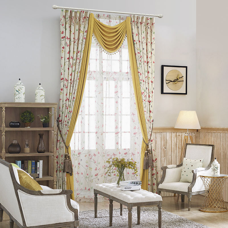 Amazoncom Ambesonne Curtains for Living Room Fall