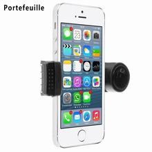 Portable Adjustable Car Air Vent Mount Holder For Mobile Cell Phone iPhone 4 4S 5 5S 5C 7 6S Samsung Galaxy Nokia HTC Blackberry(China)