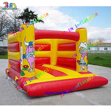 3x3m mini inflatable bouncer inflatable bouncy house air blow bounce castle for sale come with air blower(China)