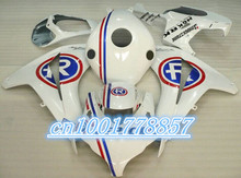 White REPSOL Cowling 100% Fit For Racing CBR1000RR 2008 2009 2010 2011 08-11 ABS Fairing kit.Toiletry kits