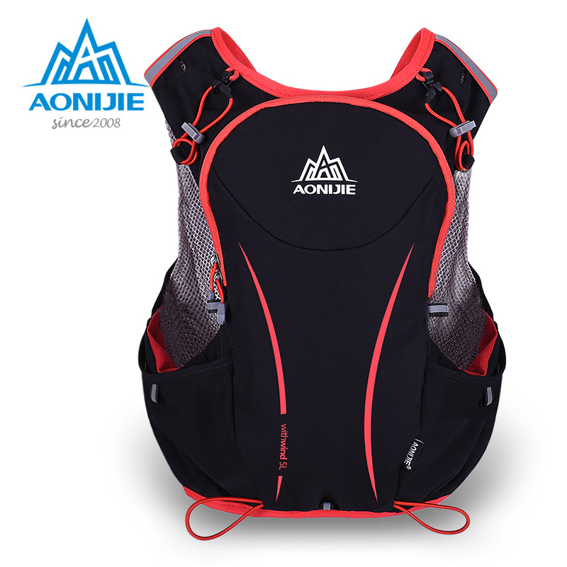 2017 New Style Aonijie Trailrunning 5L Backpack  Marathon Sports Breathable Lightweight  Riding Running Vest Bag Backpack   <br>