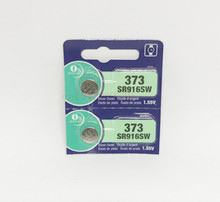 2Pcs New LONG LASTING 373 SR916SW 916 SR916 Watch Battery Button Coin Cell MADE IN JAPAN 100% Original Brand