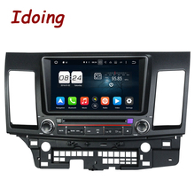 "Idoing 2Din 8""Steering-Wheel Car DVD Player For Mitsubishi lancer 2006-2012 Android 6.0 8 Core 2G+32G GPS Navigation Fast Boot(China)"