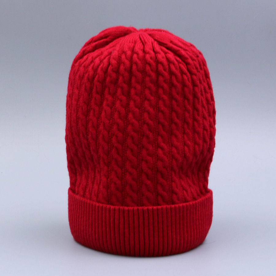 Women's Winter Hat Knitted Wool beanies Skullies Female Causal Mask Ski Thicker Warm Pompon Hats For Women  (3)