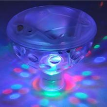 Floating Underwater RGB LED Light Glow how Swimming Pool Hot Tub Spa Lamp modern lighting waterproof Underwater Lights(China)