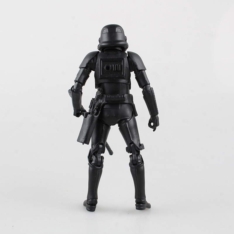 7 force awakening Black Warrior shadow stormtroopers super soldier movable boxed set decoration<br><br>Aliexpress