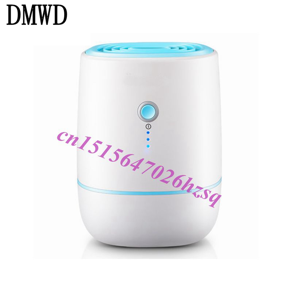 DMWD Portable Mini Semiconductor Dehumidifier Desiccant Moisture Absorbing Air Dryer Thermo-electric Cooling for Wardrobe<br>