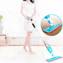 Blue New Multifunction Durable Environmental Water Home Used Spray Mop For Various Kinds Of Floor Household Floor Cleaning Tools