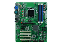 Industrial motherboard support LGA1150 Intel Core i3/i5/i7 Pentium 22nm Core processor with 14*USB/10*COM/4*PCI/6*SATAII(China)