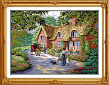 Top counted cross stitch kit 11CT&14CT embroidery DIY innovation items home decoration needlework kit - Life in countryside(China)