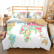 World Map Bedding Promotion Shop for Promotional World Map Bedding
