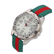 Outdoor Sport Quartz Wristwatches Compass Watch  Famous Men WatchM Army Soldier Military Canvas Strap Fabric Analog