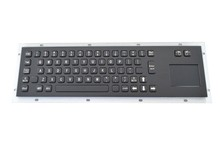 Stainless steel keyboard Black Touch the keyboards Industrial one keyboards weatherproof keypads IP65 keyboards