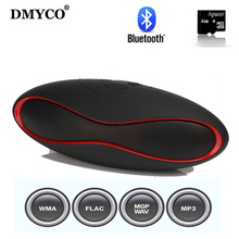 New Fashion Mini Portable Rugby Bluetooth Speaker Boombox Wireless Sports Loudspeaker Music Player Support TF/USB SoundBar