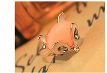 JZ297 2015 best-selling Fresh little cute little fox ring Sexy Jewelry Christmas gifts