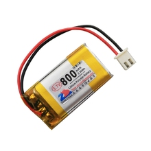 In the 800mAh 402035*2 3.7V lithium polymer battery 802035 point reading machine speaker school Li-ion Cell