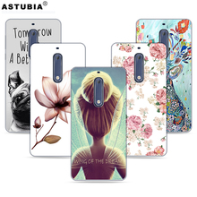 Phone Cases For Nokia 5 nokia heart TA-1008 TA-1030 Case Brand Fashion Soft TPU Plastic Silicone Cover For Nokia 5 Original Case(China)