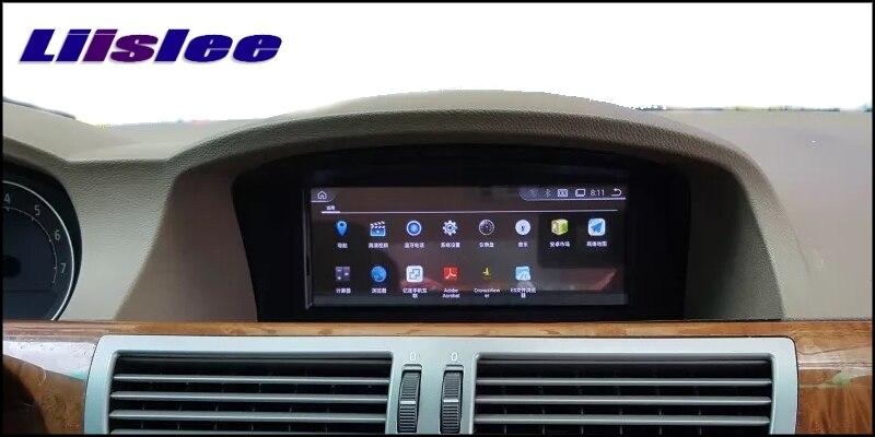 Liislee For BMW 7 E65 E66 2002~2009 Car Multimedia GPS Audio Media Radio Stereo Navigation Player NAVI 6